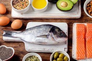 Alimentos de origen animal EPA y DHA