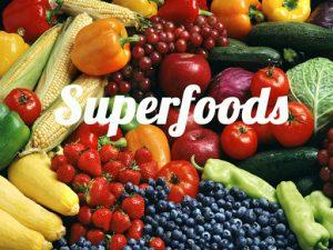 ¿Cuáles son los principales súper alimentos