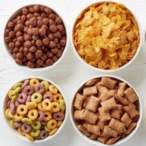 Cereales para el desayuno dieta especial o 0% »