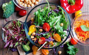 Ejemplo de una dieta, destinada a seco, para vegetarianos