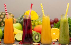 Zumos de frutas industriales